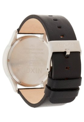 Nixon SENTRY LEATHER - Uhr - black - Zalando.de