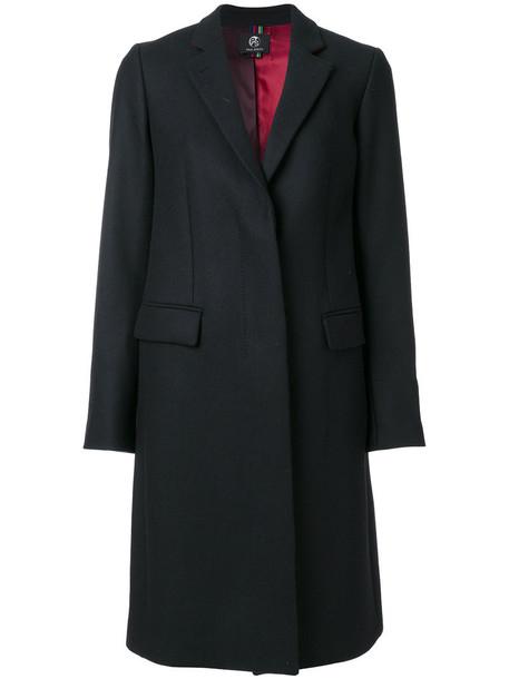 PS By Paul Smith coat women black wool