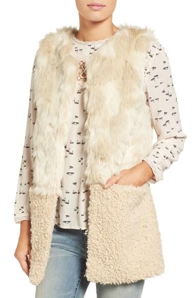 Hinge Faux Fur Vest | Nordstrom