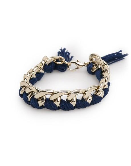 jewels cute gold chain bracelets gold jewelry chain bracelet gold bracelets mango.com Mango marine blue