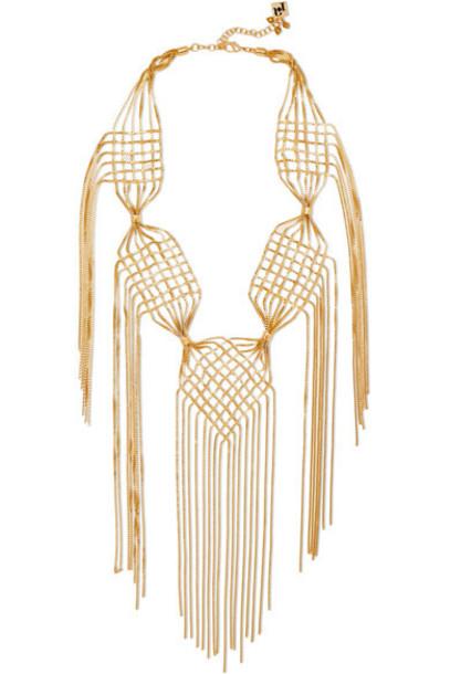 Rosantica necklace gold jewels