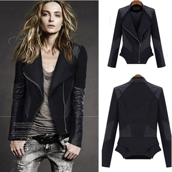 Leather Biker Jacket Womens Sale