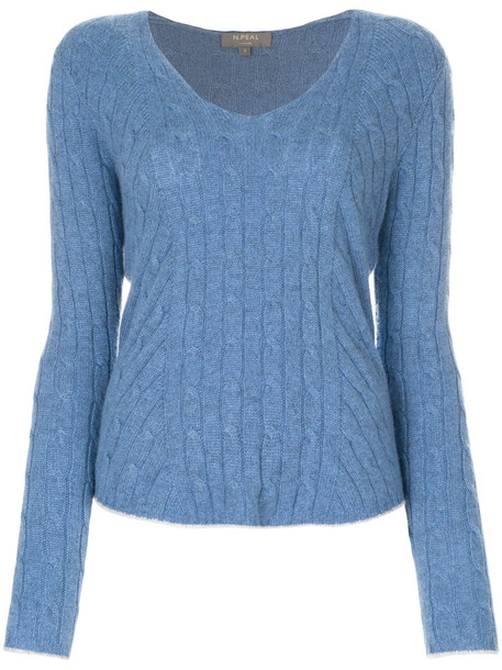 N.Peal jumper women blue sweater
