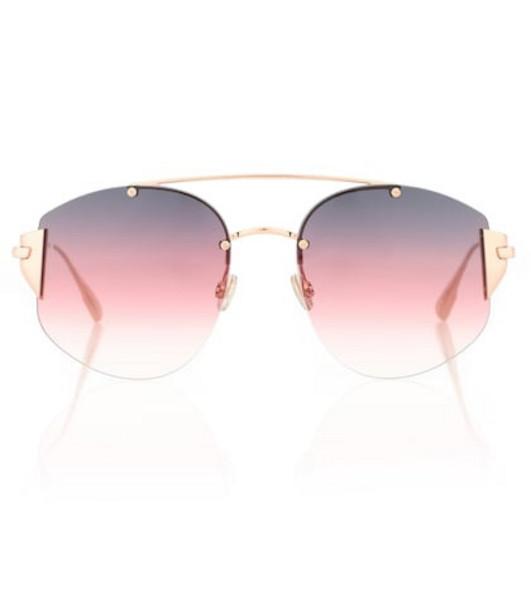 Dior Sunglasses DiorStronger aviator sunglasses in pink