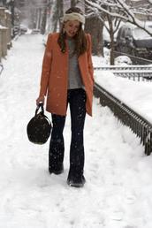 sequins & stripes,coat,t-shirt,bag,shoes,jewels