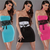 women's sexy dress Shoulder halter costume role play dress sexy fluffy waist 2014 summer sexy dress night club star-in Dresses from Apparel & Accessories on Aliexpress.com