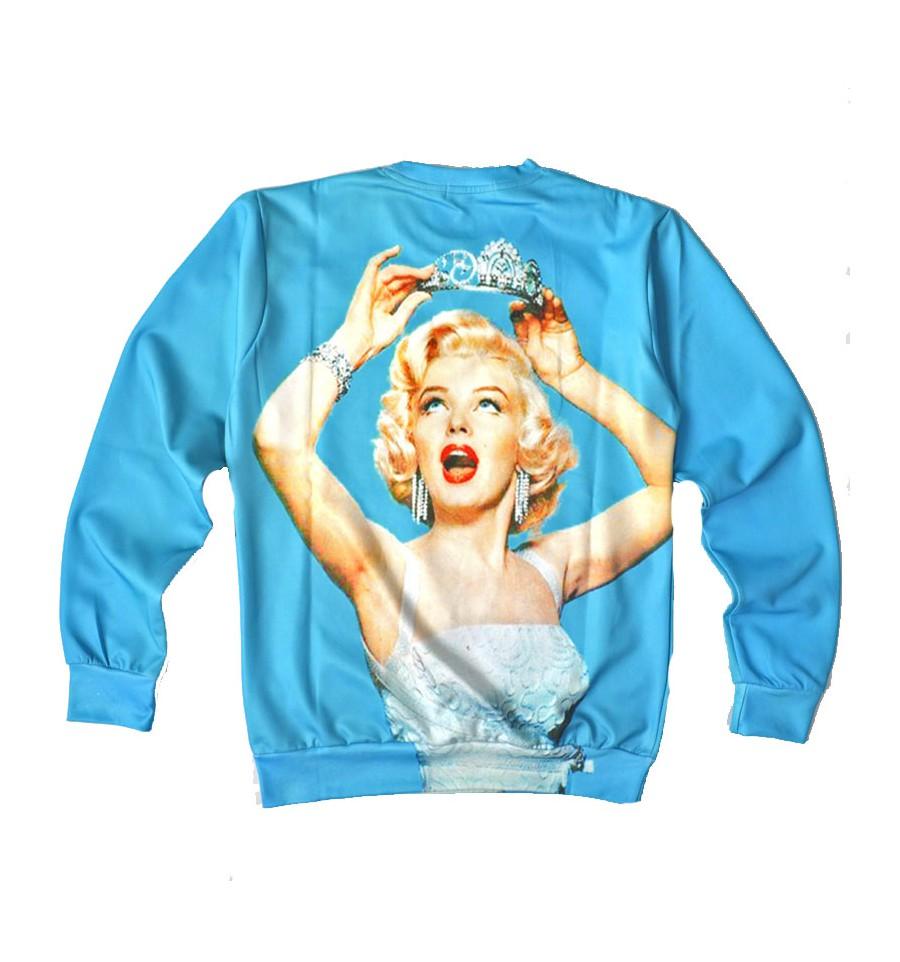 Sweatshirt rabbitch clothing marilyn monroe