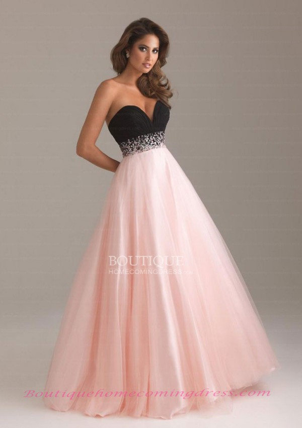 Length empire sleeveless 2015 prom dress