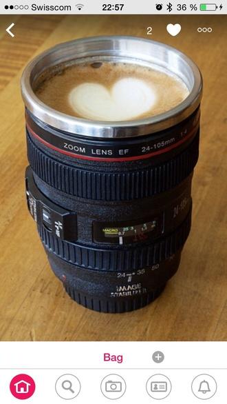 home accessory camera lens cup mug