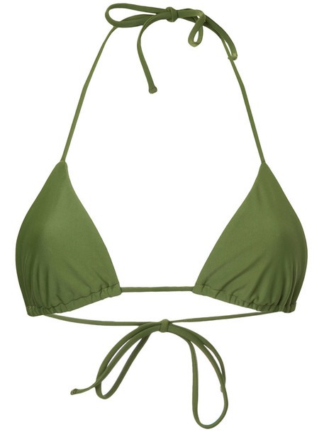 top triangle top triangle women spandex green