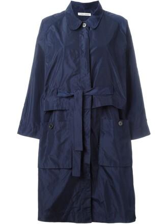 coat women blue