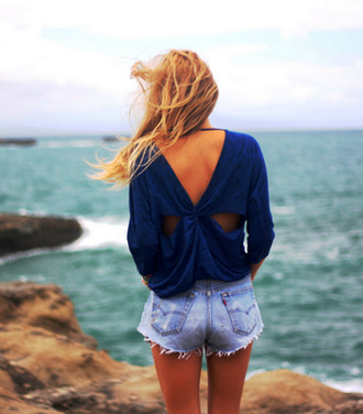 top perfect look style girl beach levi's levi levi shorts