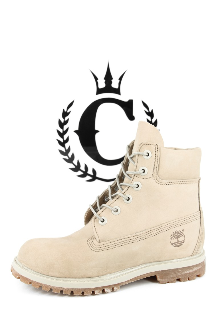 Excellent  About Womens Timberland Premium 6 Boots WINTER WHITE NUBUCK Boots