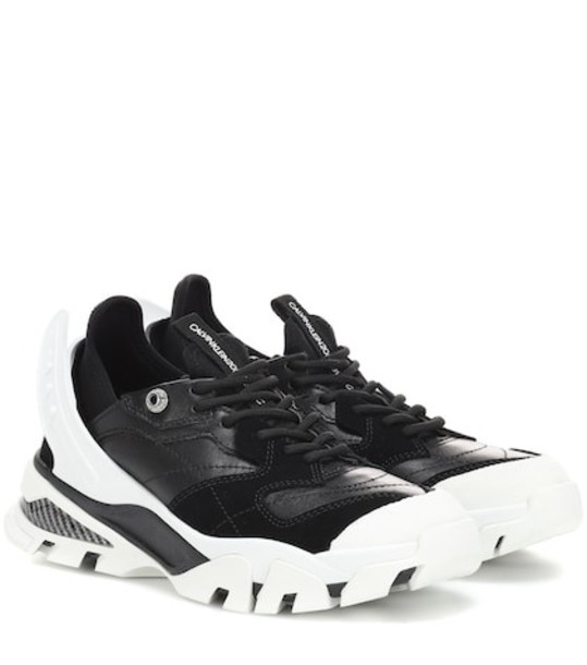 Calvin Klein 205W39NYC Carla leather sneakers in black