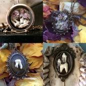 jewels,bones jewelry,bone jewelry,bone necklace,teeth jewel