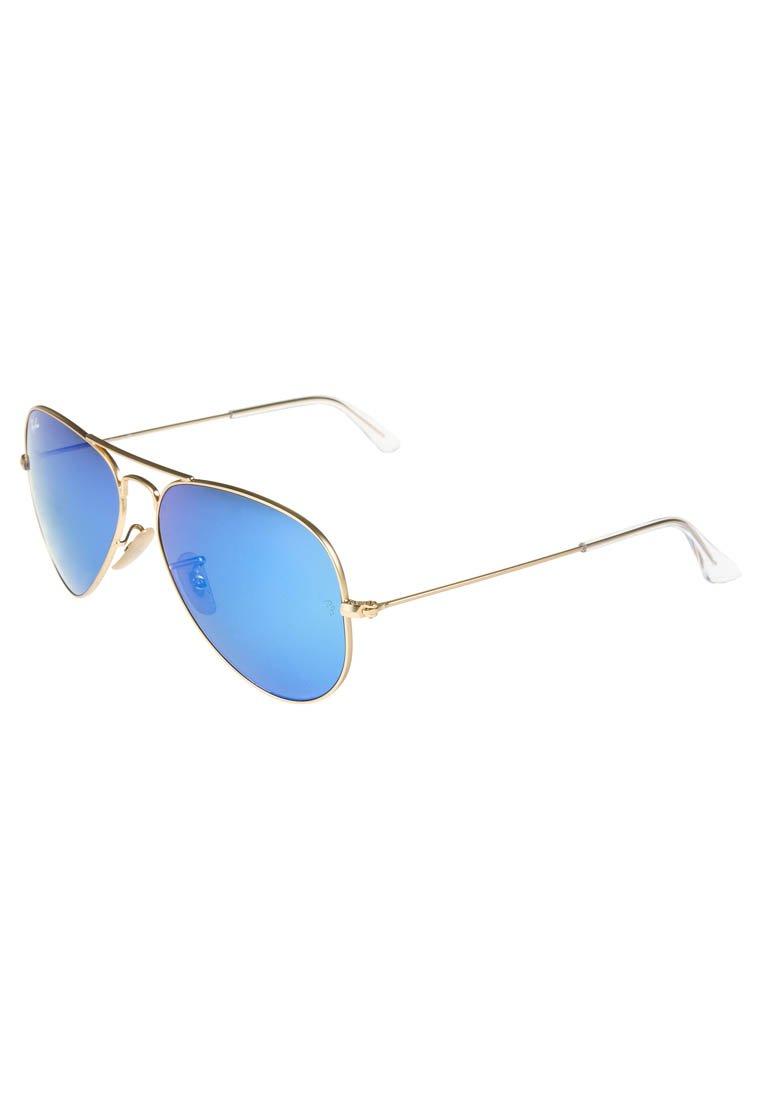 Ray-Ban AVIATOR - Sonnenbrille - blau/goldfarben - Zalando.de
