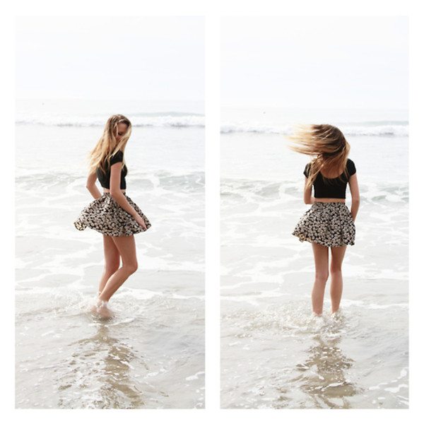 skirt beach cute girl summer cute skirt