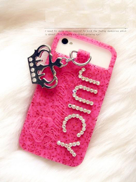 jewels phone case case iphone case iphone cover iphone cover juicy couture iphone 5s iphone 5s case pink bling