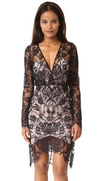 dress long sleeve dress long noir
