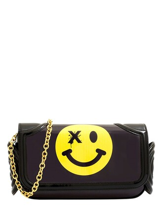 mini bag shoulder bag black yellow