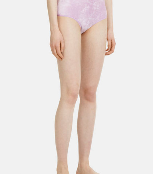 Baserange High-waist Bell Briefs in lilac