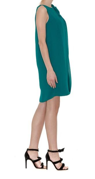 dress draped dress draped green emerald green