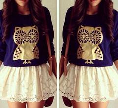 Thick owl sweatshirt