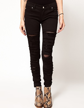 Tripp nyc tear it up skinny jeans at asos