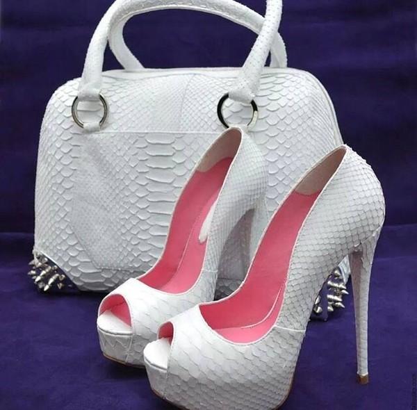 shoes bag white purse white heels summer shoespie