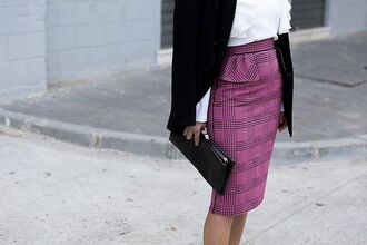 skirt ruffle skirt tumblr lilac purple printed skirt checkered midi skirt ruffle pencil skirt bag black bag clutch