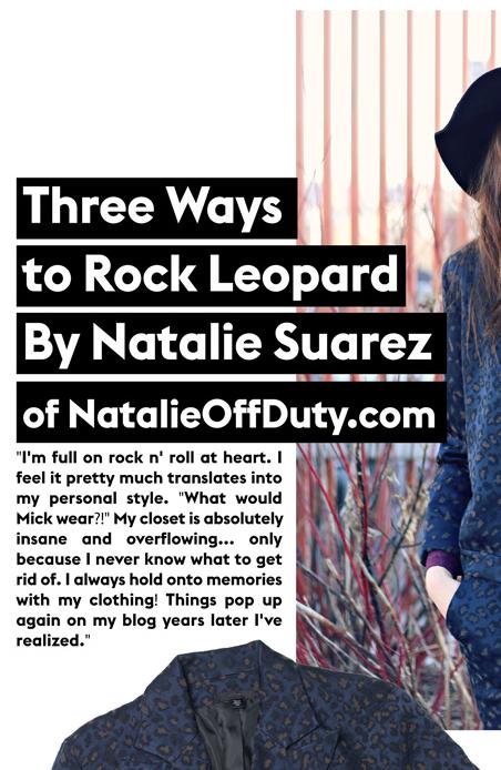 Natalie Suarez Story, Three Ways To Rock Leopard,, Womens Jeans, Mens Jeans, Premium Denim Jeans, Designer Apparel|JoesJeans.com