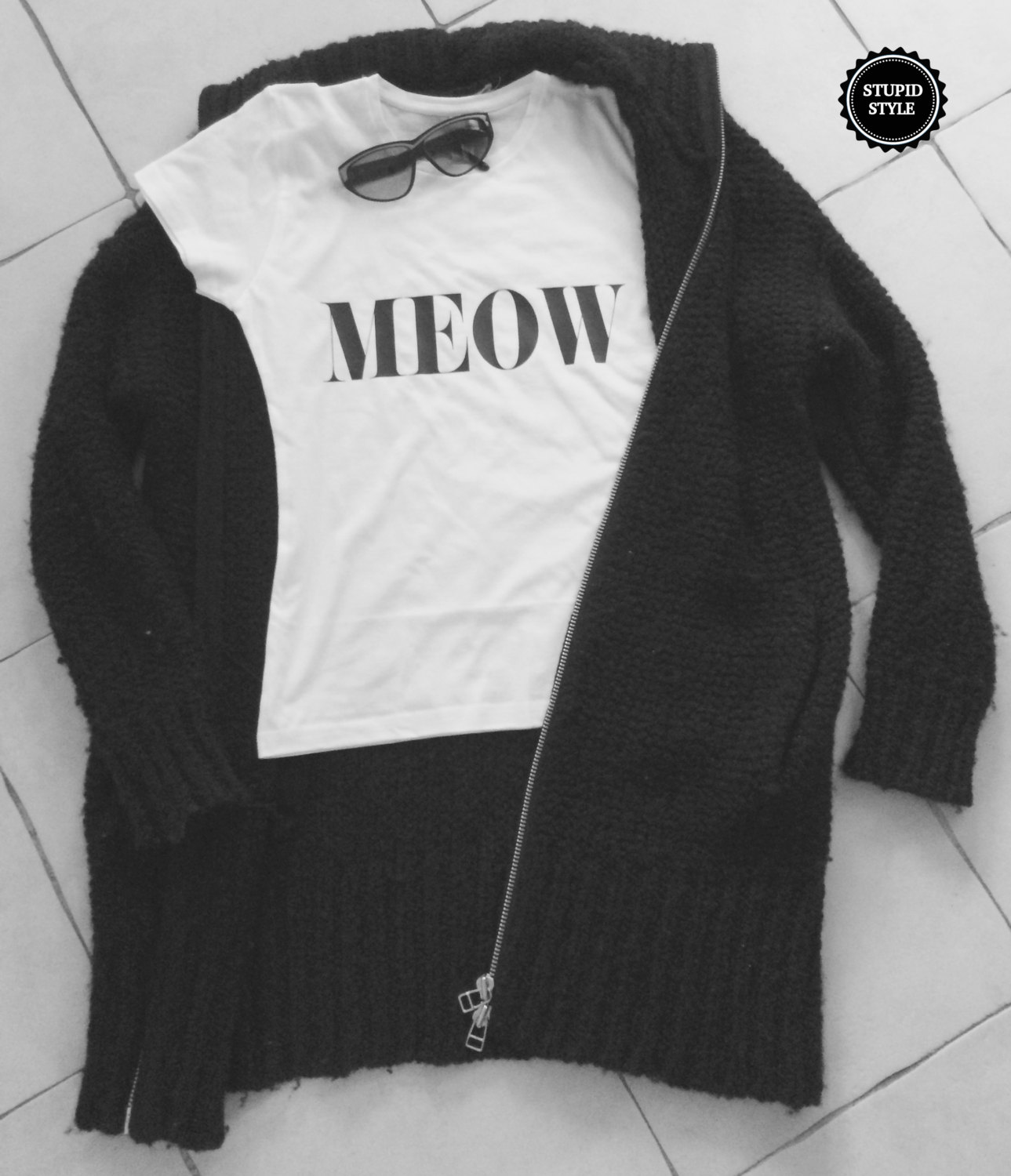 ee2049d5b Meow white t-shirts for women tshirts gifts t-shirt tops girls tumblr funny  ...