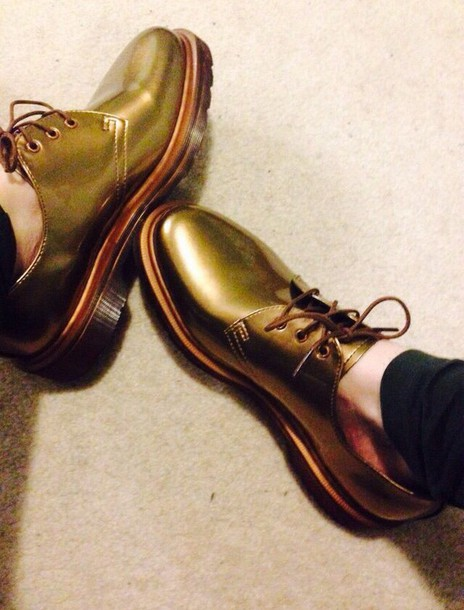 shoes DrMartens DrMartens metallic