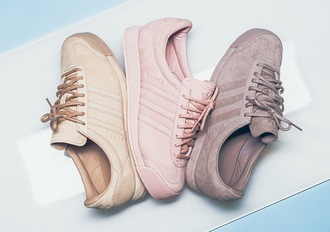 shoes adidas adidas shoes adidas samoa og pink sneakers sneakers vintage retro pastel sneakers pastel