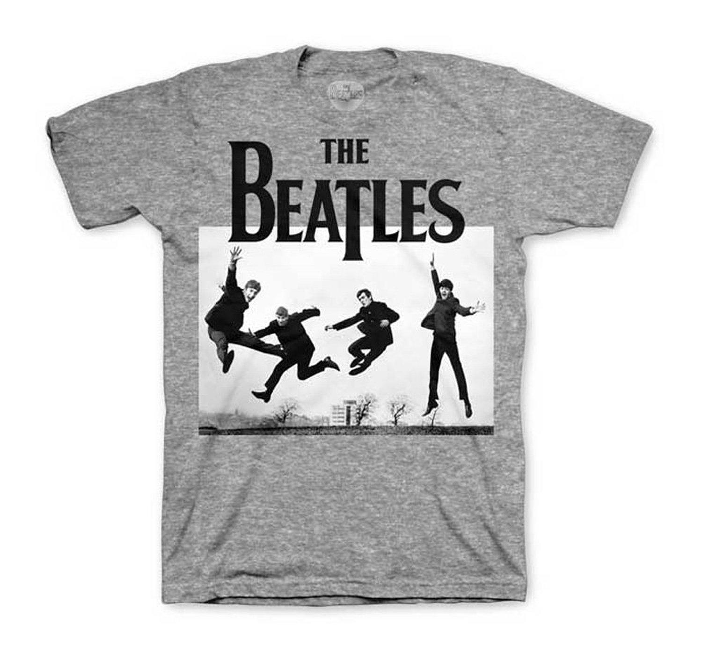 com: The Beatles Jump Photo T-shirt: Clothing