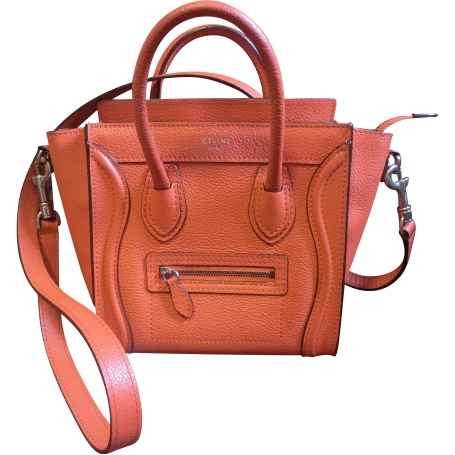 Nano luggage celine orange