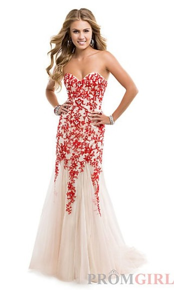 red lace dress red lace dress lace red prom dress long prom dress prom 2014