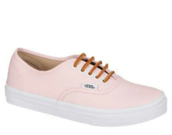shoes vans soft pink