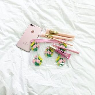 make-up yeah bunny floral flowers pale