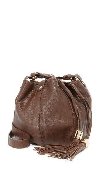 mini chocolate bag bucket bag