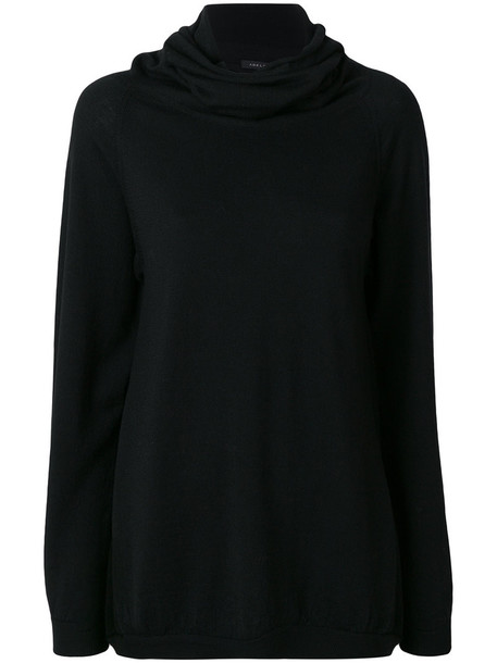 Adelbel - Manon jumper - women - Virgin Wool - L, Black, Virgin Wool