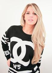 sweater,n5,chanel,fashion,streetstyle