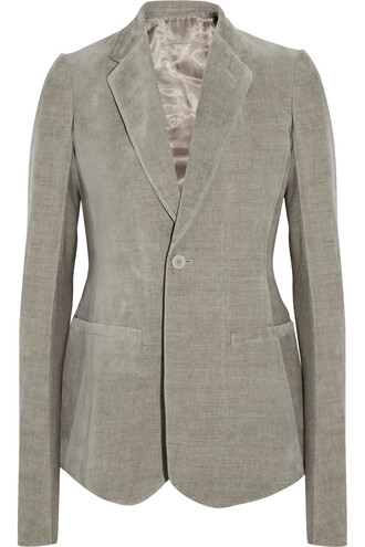 blazer cotton jacket