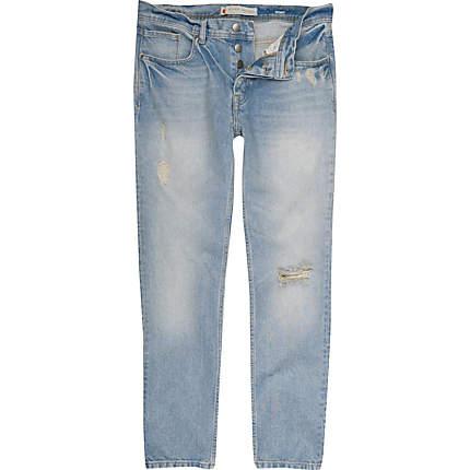 wash denim skinny flynn jeans - jeans - sale - men