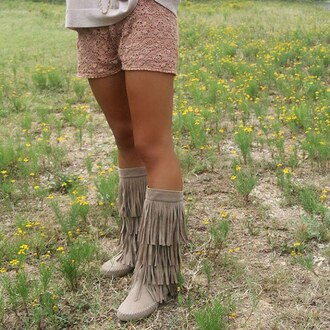 shoes amazing lace boots fringes fringe shoes booties fall boots suede boots fall outfits