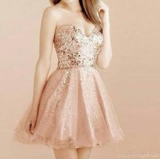 dress glitter short