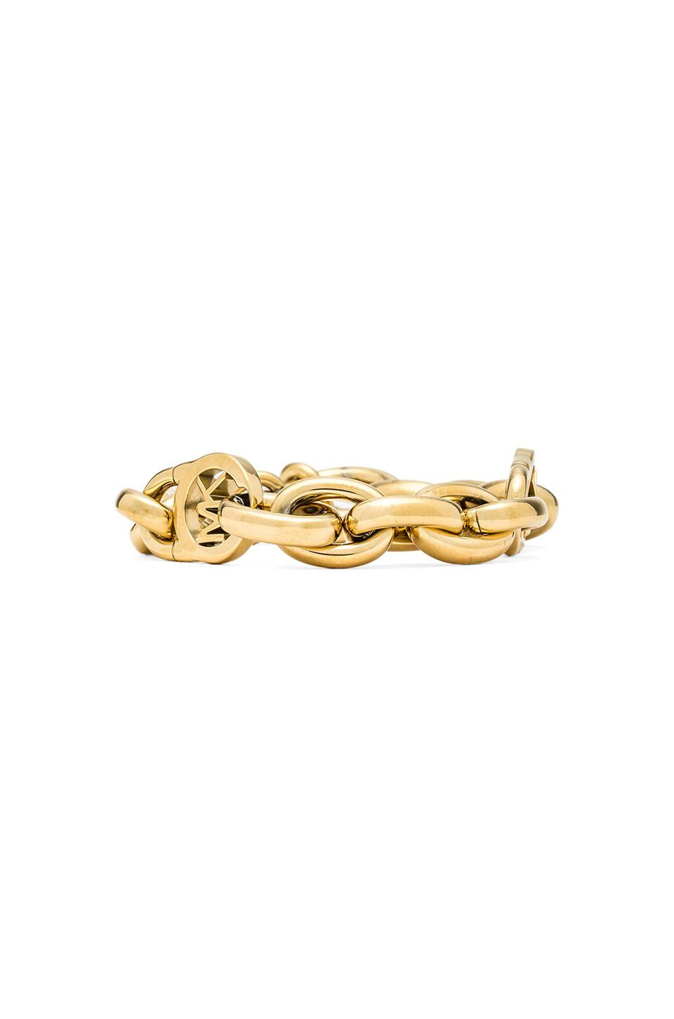 Michael Kors Chain Bracelet in Gold from REVOLVEclothing.com