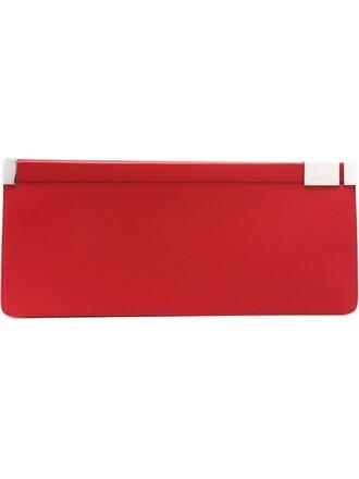 classic clutch red bag