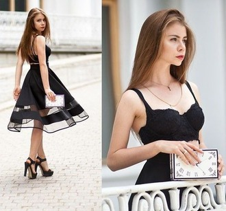 skirt shirt top black oufit black skirt