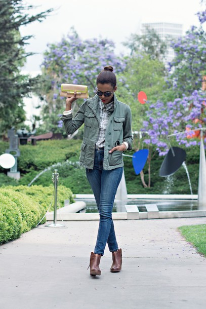 style me grasie top jacket jeans jewels shoes sunglasses bag